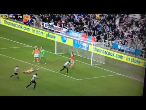 Papiss Cisse Goal v Fulham - 7/4/13