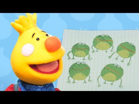 Five Little Speckled Frogs | Sing Along With Tobee | Kids Songs | Super Simple Songs