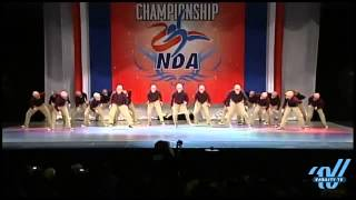West Springfield Dance Team NDA Nationals Hip Hop 2013 Old People