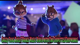The Chipettes/Chipmunks - Crazy Frog - Axel F Dance Music Video