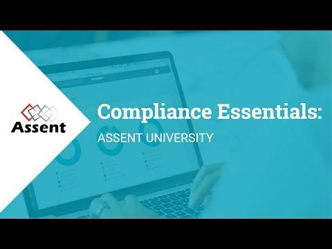 [Webinar] Compliance Essentials: Assent University