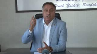 Sağlık-Sen Diyarbakır Başkanı Ensarioğlu Saldırıları Kınadı