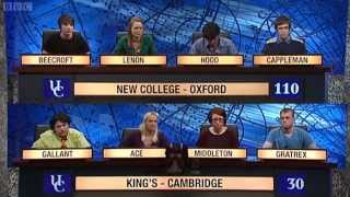 University Challenge S42E28 - New College, Oxford vs King