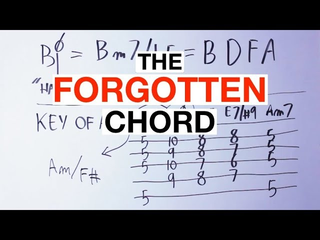 The 'Forgotten Chord' And How To Use It In Your Songs [Music Theory, Chord Progressions]