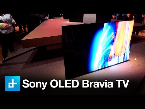 Thumbnail: Sony XBR-A1E Bravia OLED - Hands on at CES 2017