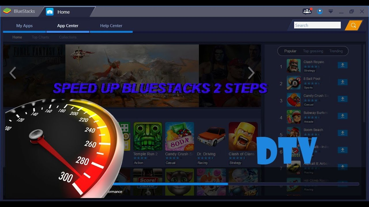 How to speed up bluestacks 3