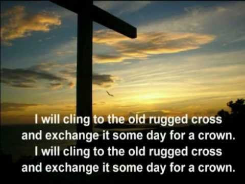 Great The Old Rugged Cross Alan Jackson With Lyrics