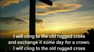 The Old Rugged Cross-Alan Jackson  with lyrics