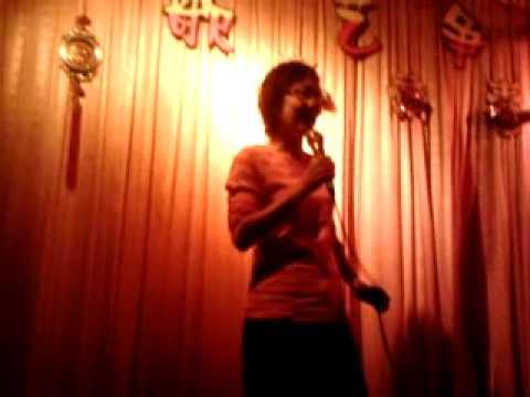 Kluang karaoke auntie 2