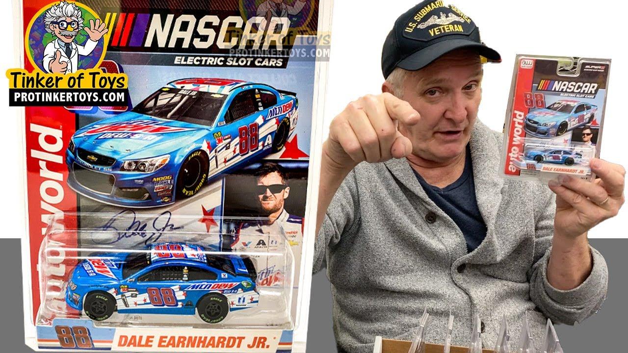 AUTO WORLD SCS316 NASCAR SERIES SUPERIII DALE EARNHARDT JR.