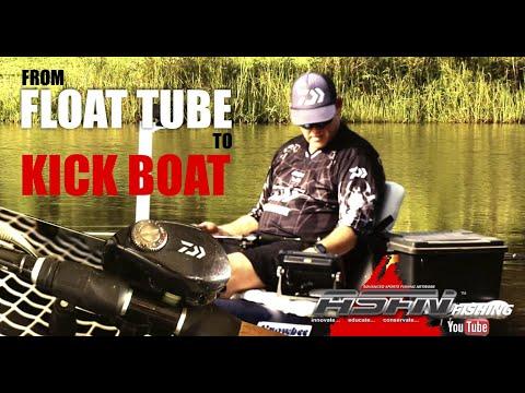 My Float Tube To Kick Boat Conversion