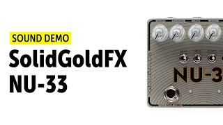 SolidGoldFX NU 33 Vinyl Engine Sound Demo (no talking) with Elektron Digitone