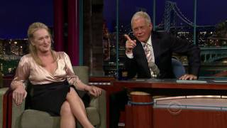 [HD] Meryl Streep on Letterman (7/15/2008) - Part 2