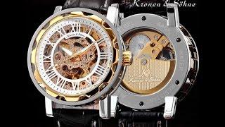 Китайские наручные часы, мужские, механические, скилеты.(, 2015-07-24T11:12:33.000Z)