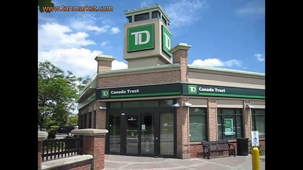 td bank how to find branch transit