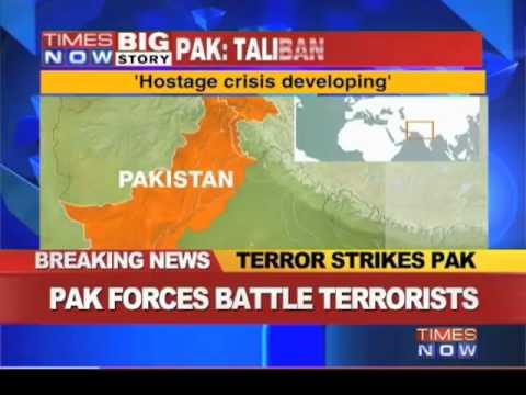 Pakistani Naval airbase under siege