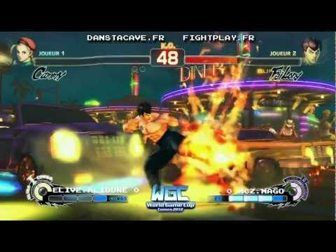 World Game Cup Super Street Fighter IV Arcade Edition 2012 Solo Tournament Top 8