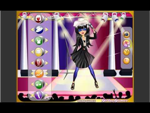 Super Pop Star Dressup - Y8 Games