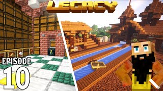 Legacy SMP: Jousting Arena and Storage | Minecraft 1.15 Survival Multiplayer | Episode 10