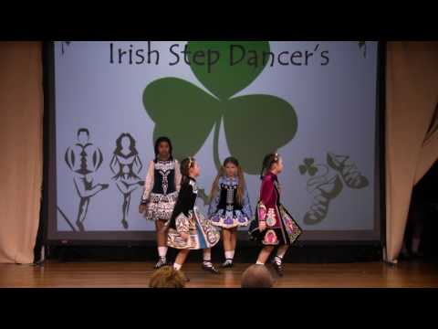 O'Halloran Irish Step Dancers performing at the Southern New Hampshire Festival of Trees 2016