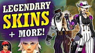 New Ashe Legendary SKINS! + New Hero Development Info (Overwatch News)