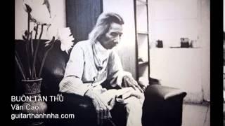 BUỒN TÀN THU - Guitar Solo, Arr. Thanh Nhã