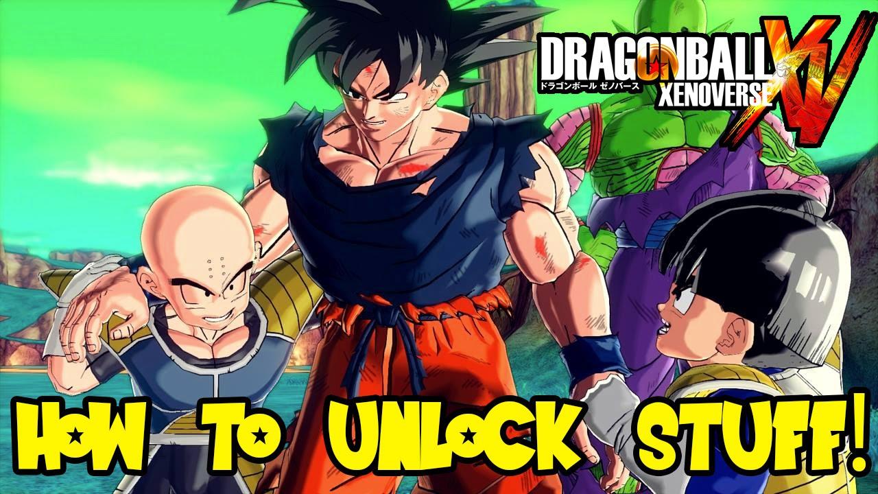 Dragon Ball Xenoverse How to Unlock Custom Slots, Characters, Clothes,  Super \u0026 Ultimate Attacks , YouTube