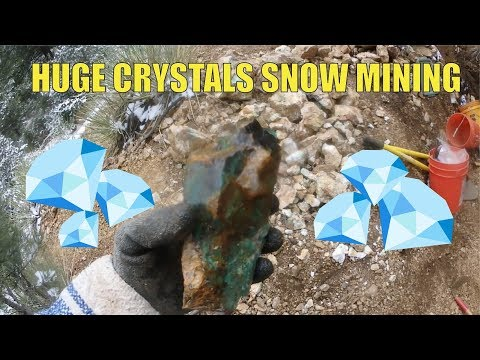 Surprise Huge Crystals And Snow Mining Amazonite