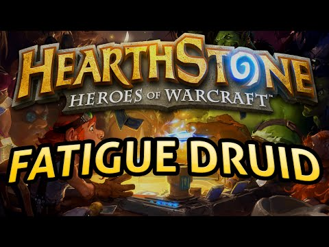 Hearthstone: Fatigue Druid - Lord of the Gimmicks
