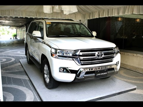 Toyota Introduces New Land Cruiser 200 In The Philippines
