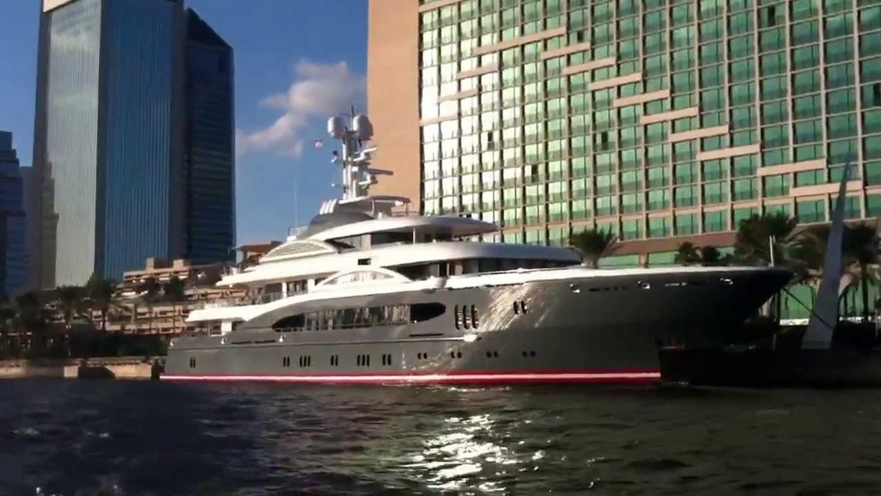 Shad Khans Yacht Youtube