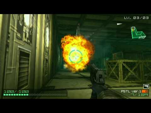 Coded Arms Game Sample - PSP