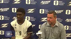 2018 Akron Men's Soccer vs Butler Recap - 8/24/18