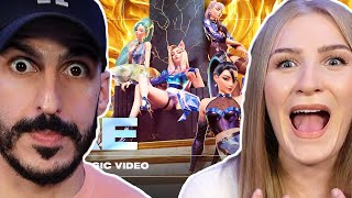 Download Producer REACTS to K/DA – MORE with Madison Beer, (G)I-DLE, Lexie Liu, Jaira Burns and Seraphine