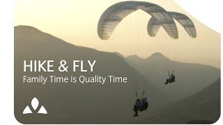 Hike & Fly - Family Time is Quality Time I VAUDE