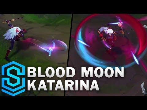 Blood Moon Katarina Skin Spotlight - Pre-Release - League of Legends
