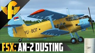 FSX: Sibwings An-2 Crop Dusting, LYVR Vrsac