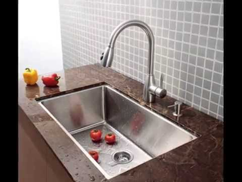 Charming Kraus 32 Inch Undermount Single Bowl 16 Gauge Stainless Steel Kitchen Sink    YouTube