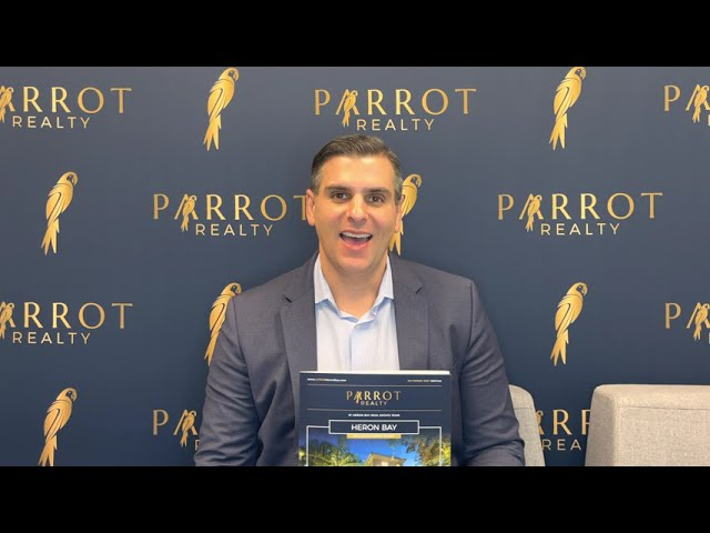 Heron Bay's October 2021 Market Update - Presented By Michael Citron Parrot Realty