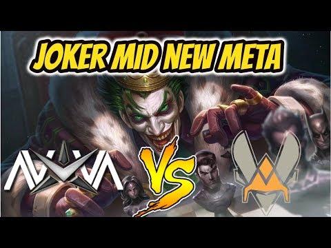 JOKER MID NEW META | Nova vs. Vitality | Conqueror Match | Arena of Valor/AoV