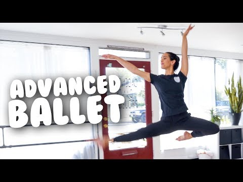 Advanced Ballet Class, Part One I @MissAuti