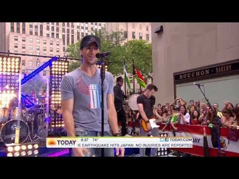 Enrique Iglesias - Tonight, I Like It, Be With You Live at The Today Show Rockefeller Plaza HD