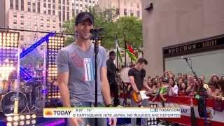 Enrique Iglesias Tonight, I Like It, Be With You Live at The Today Show Rockefeller Plaza HD.mp3