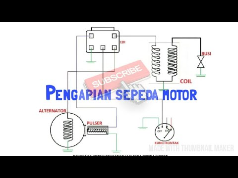 Sistem pengapian sepeda motor ac youtube sistem pengapian sepeda motor ac ccuart Gallery