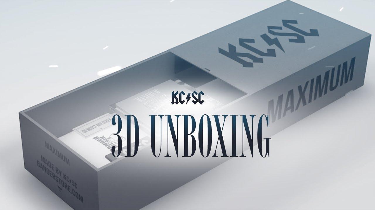 KC Rebell x Summer Cem - 3D UNBOXING MAXIMUM Box