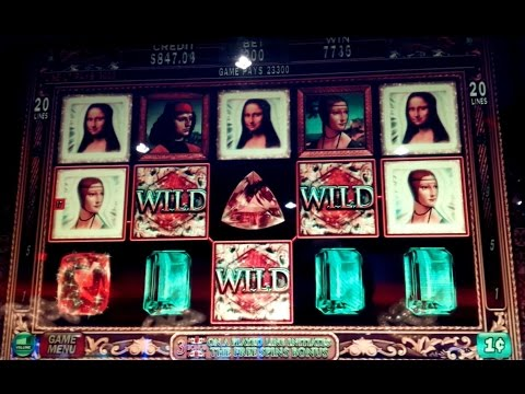 Davinci Diamonds Slot Machine BIG WIN $10 Max Bet *LIVE PLAY* Bonus and Line Hit! (2 videos)