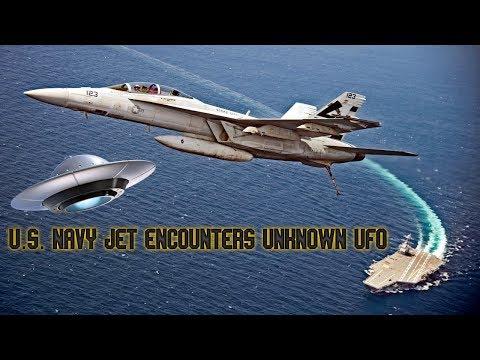 U.S. Navy Jet Encounters Unknown UFO (2004) Released by Pentagon Defense Department HD