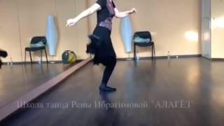 Урок Азербайджанского танца 05/02/2017 в Москве.