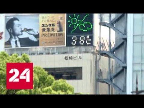 Япония не празднует температурный рекорд, а считает убытки от подорожавшего электричества - Россия…