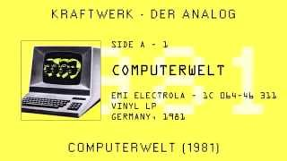 Kraftwerk - Computerwelt (1981) Vinyl LP, Germany